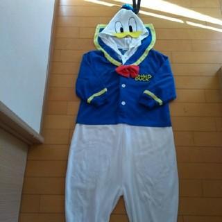 ディズニー(Disney)のドナルド♡着ぐるみパジャマ♡130cm(パジャマ)