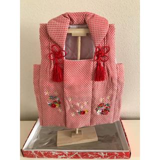 桃の節句 ひな祭り 女の子 被布着(和服/着物)