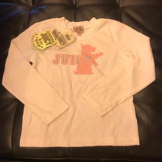 ジューシークチュール(Juicy Couture)の★ タグ付き新品 ★ ジューシークチュール 長袖T サイズ6 ★(Tシャツ/カットソー)