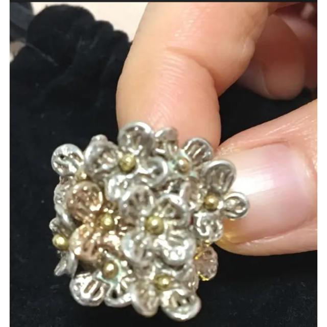 KAORU(カオル)のアトリエ カオル KAORU アジサイ 紫陽花 リング 指輪 あじさい レディースのアクセサリー(リング(指輪))の商品写真