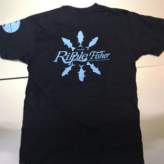 Ripple Fisher コットン Tシャツ Mサイズ(ウエア)