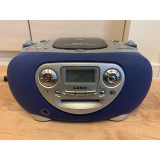 カシオ(CASIO)のカシオ MDH-3 MD/CD PORTABLE SYSTEM 中古品(ポータブルプレーヤー)