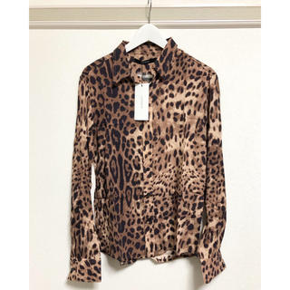 新品 ジョイリッチ レオパードシャツ Mサイズ