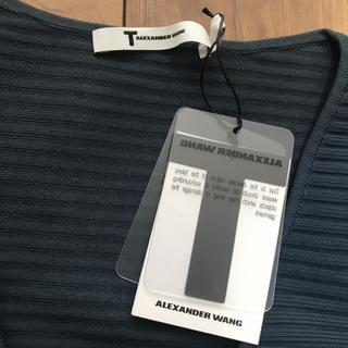 アレキサンダーワン(Alexander Wang)のアレキサンダーワン トップス 新品 デザイン ティーバイ(Tシャツ(半袖/袖なし))