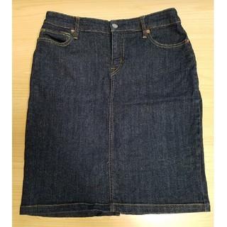 ムジルシリョウヒン(MUJI (無印良品))の無印良品 デニムスカート(ひざ丈スカート)