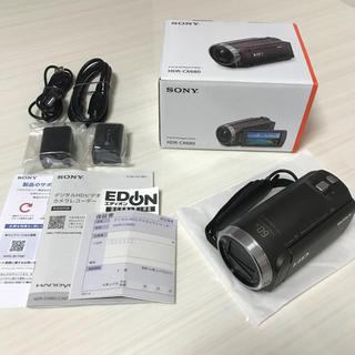 ソニー(SONY)のSONY ソニー ビデオカメラ HDR-CX680 茶【ほぼ未使用】(ビデオカメラ)