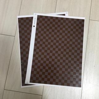 転写紙2枚(各種パーツ)