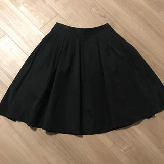 エムプルミエ(M-premier)のエムプルミエ☆ブラック フレアスカート  (ひざ丈スカート)