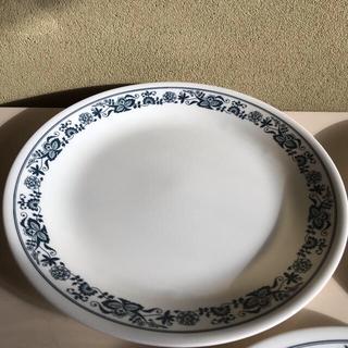 コレール(CORELLE)のコレール  ブルーオニオン  約25㎝  高さ2㎝  3枚(食器)