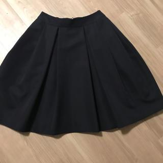 エムプルミエ(M-premier)のエムプルミエブラック☆ネイビー フレアスカート  (ひざ丈スカート)