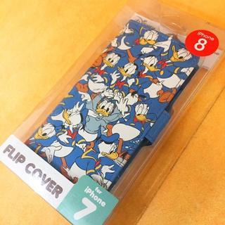 Disney - ドナルド iPhone8/7 フリップカバー DN391B