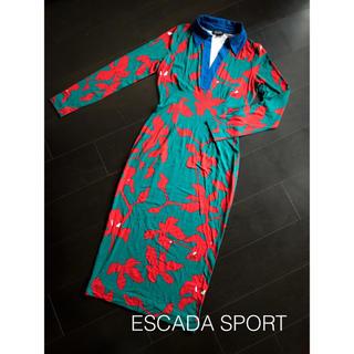 エスカーダ(ESCADA)のエスカーダ スポート 【未使用品】 ストレッチワンピース 36(ロングワンピース/マキシワンピース)
