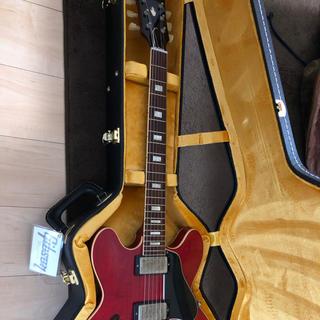 ギブソン(Gibson)の美品Gibson memphis 1963 ES335 TDC VOS チェリー(エレキギター)