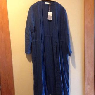 エヴァムエヴァ(evam eva)のEvameva linen robe 2018 ss(カーディガン)