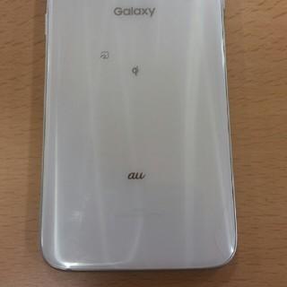 ギャラクシー(galaxxxy)の確認用 Galaxy S7 edge SCV33 au ホワイト(スマートフォン本体)