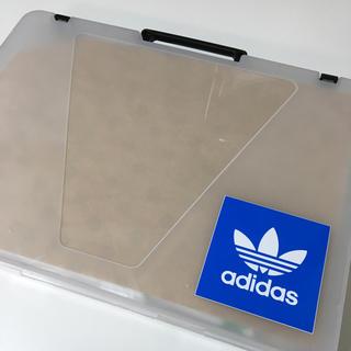 アディダス(adidas)の【新品】adidas ステッカー 4枚  7cm×7.3cm(その他)