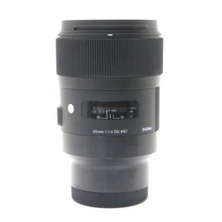 シグマ(SIGMA)の美品 シグマ 35mm F1.4 DG HSM ソニーEマウント用(レンズ(単焦点))