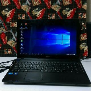 エイサー(Acer)のこれ♪買い時でしょ~♪高速SSD & intel i5搭載、ノートパソコン♪(ノートPC)