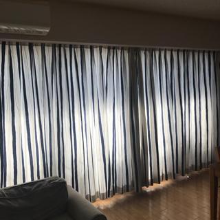 イケア(IKEA)のイケア ☆ストライプカーテン(カーテン)