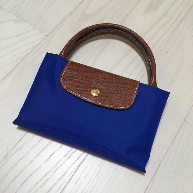 19803567f51d LONGCHAMP(ロンシャン)のロンシャン プリアージュ エッフェル塔 ブルー 1623 レディースのバッグ(