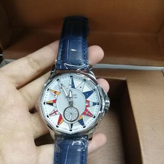 コルム(CORUM)の自動巻き CORUM コルム 腕時計 ファッション 新品同様(レザーベルト)