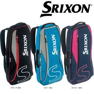 スリクソン(Srixon)のSRIXON ラケットバッグ 2本収納 スリクソン ネイビーのみ(バッグ)
