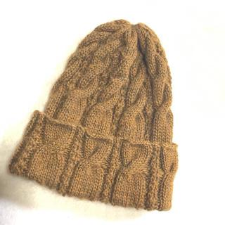 手編みニット帽♫(帽子)