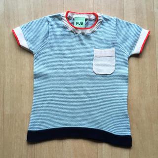 コドモビームス(こども ビームス)のFUB オーガニックコットン100% 半袖カットソー 80サイズ(シャツ/カットソー)