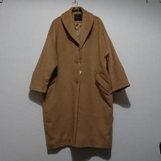 グースィー(goocy)のgoocyキャメル色コート(ロングコート)