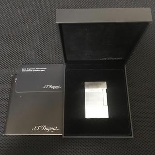 エステーデュポン(S.T. Dupont)の美品・現行モデル!S.T.Dupont デュポン ライン2 ライター16184(タバコグッズ)