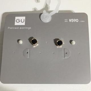 ジーユー(GU)の新品未使用 ピアスセット(ピアス)