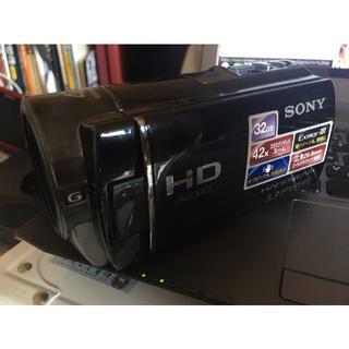 ソニー(SONY)のHDR-CX180/B ソニー デジタルHDビデオカメラレコーダー(ビデオカメラ)