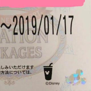 ディズニー(Disney)の1/17 バケーションパッケージ フリードリンク(遊園地/テーマパーク)