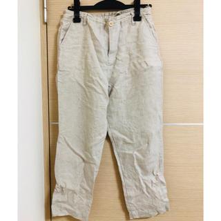 MUJI (無印良品) - 無印良品  麻パンツ