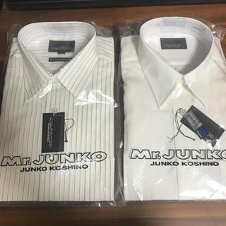 コシノジュンコ(JUNKO KOSHINO)のCYOYA チョーヤ ワイシャツ コシノジュンコ カッターシャツ ストライプ(シャツ)