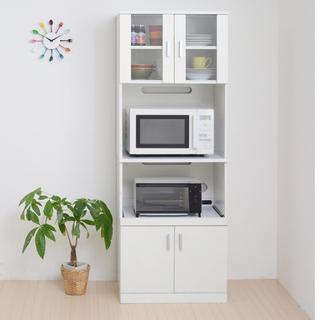 開店記念セール◆シンプルなキッチンなら!スリムレンジ台 (送料無料)(キッチン収納)