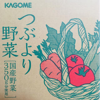カゴメ(KAGOME)のつぶより野菜  30本入り(ソフトドリンク)