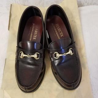 ハルタ(HARUTA)のハルタ フレディ&グロスターコラボ ローファー ビット付き ブラウン(ローファー/革靴)