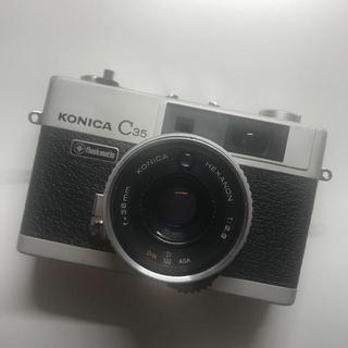 コニカミノルタ(KONICA MINOLTA)のKonica C35 flashmatic(フィルムカメラ)