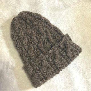 手編みニット帽♡(帽子)
