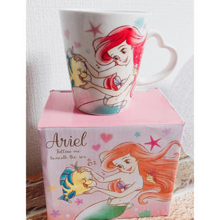 Disney - ディズニー アリエル  マグカップ コップ