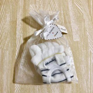 コクーニスト(Cocoonist)の新品♡ 5本指ソックス ボーダー 白 ホワイト(ソックス)