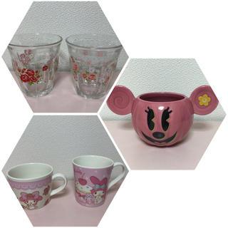 サンリオ(サンリオ)の食器 ピンク セット ディズニー サンリオ マザーガーデン カップ コップ(食器)