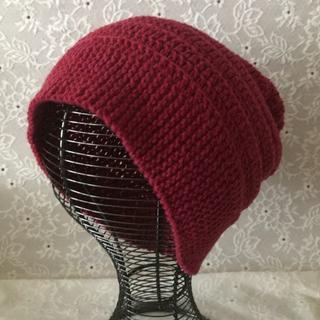 男女兼用ニット帽子(帽子)