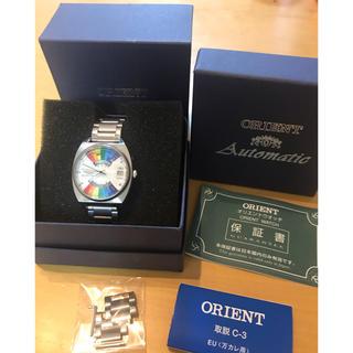 オリエント(ORIENT)のorient 自動巻き 腕時計 レインボー 万年カレンダー(腕時計(アナログ))