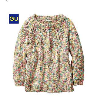 GU - ジーユー ミックスカラー セーター L