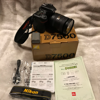 Nikon - NIKON D7500 保証あり 美品です。