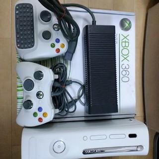エックスボックス360(Xbox360)のXbox 360本体60GB +ソフト2本(家庭用ゲーム本体)
