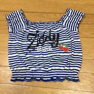 ジディー(ZIDDY)のZIDDY ショート丈トップス(Tシャツ/カットソー)