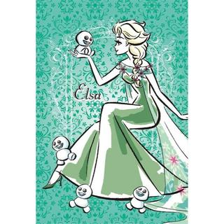ディズニー(Disney)のH3 エルサ☆アナと雪の女王☆アートパネル☆ディズニー(その他)